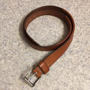 Cole Haan Leather Hand Laced Belt 34/85